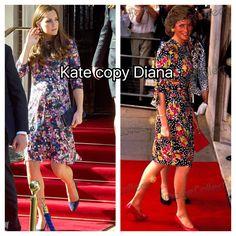 Kate Middleton copy princess Diana