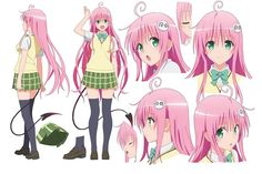 Character Model Sheet, Character Modeling, Character Drawing, Character Concept, Moe Manga, Manga Anime, Anime Art, Motto To Love Ru, To Love Ru Darkness