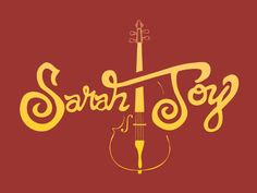 Sarah Joy Logotype Version 2 by Darold J. Pinnock
