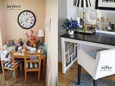Panelove i stół z Ikei - DIY   Zoyka HOME blog wnętrzarski