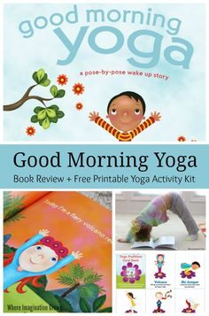 Good Morning Yoga Book Review & Giveaway! Simple yoga activities for kids!
