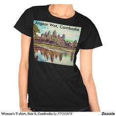 Woman's T-shirt, Size S, Cambodia