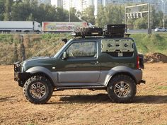 Тюнинг Suzuki Jimny Jimny 4x4, Jimny Sierra, Jimny Suzuki, Suzuki Cars, Mini Monster, Grand Vitara, Off Road, Mini Trucks, Dream Cars