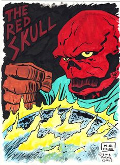 The Red Skull!
