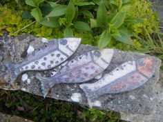 Raku Fish - Penny Rich raku art