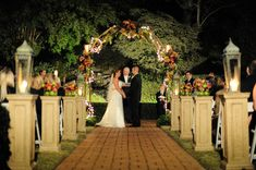Outdoor Ceremony Little Gardens Wedding Venue Pinterest