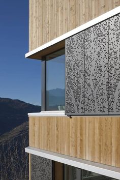 Shading Screens - Perforated Facade Panels from Bruag