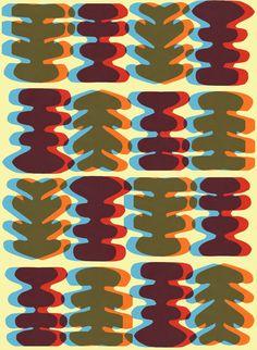 Collage and digital organic pattern - Sarah Bagshaw