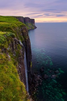 Kilt Rock Falls Photo by Dave Derbis -- National Geographic Your Shot