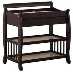 Stork Craft Tuscany Changing Table With Drawer   Black