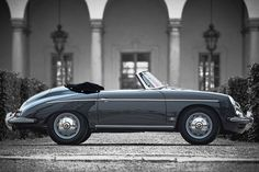 1961 Porsche 356 B Roadster  Maintenance/restoration of old/vintage vehicles: the material for new cogs/casters/gears/pads could be cast polyamide which I (Cast polyamide) can produce. My contact: tatjana.alic@windowslive.com