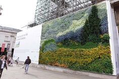 Why limit our oxygen-releasing flora friends to the indoors when you can flank them on buildings of all proportions, thanks to the highly-skilled hands of a botanist? Take a step outside to see six amazing living walls from Portugal to London..