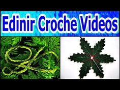 FOLHAS EM CROCHE PASSO-A-PASSO - YOUTUBE - YouTube