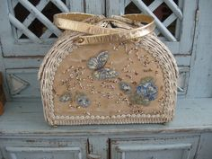 Wonderful Butterfly Vintage Handbag by lino on Etsy, $48.00