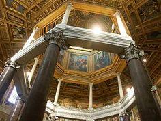 Lateranski Baptisterij, Rim, 470. g., interijer