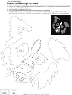 Pin for Later: 22 Downloadable Dog Breed Pumpkin Stencils