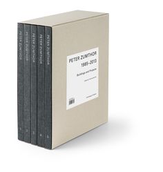 Peter Zumthor: Buildings and Projects, 1985-2013: Thomas Durisch, Peter Zumthor: 9783858817235: Amazon.com: Books