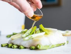 Steamed Cod With Ginger and Spring Onion – No Apology Kitchen Twine, Hot Steam, Cod Recipes, How To Apologize, Bite Size, Pretty Good, Skillet, Food Inspiration