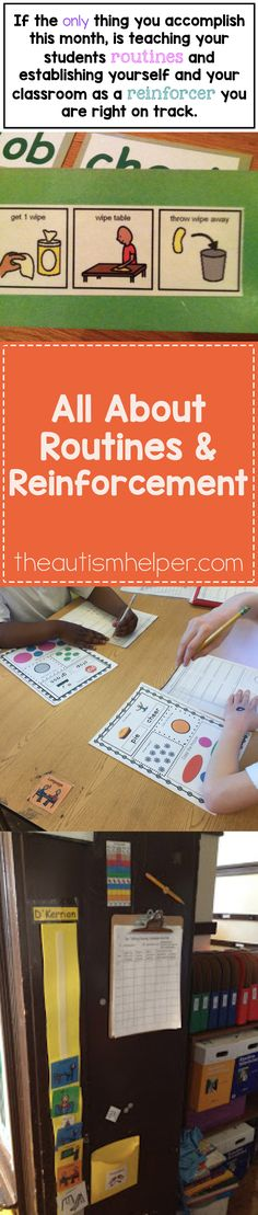Rock your school year by teaching routines & become a reinforcer. From…