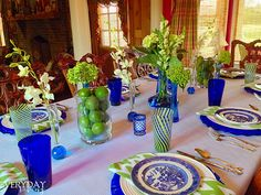 Tablescape Tuesday: Butch's Birthday Bash! – Everyday Living