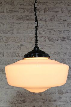 Schoolhouse Ceiling Pendant Light | Classic American Lights | Fat Shack Vintage