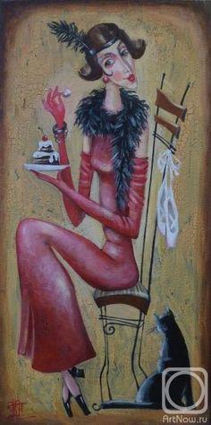 Женщина с запахом кофе...(картины Киры Паниной). Обсуждение на LiveInternet - Российский Сервис Онлайн-Дневников