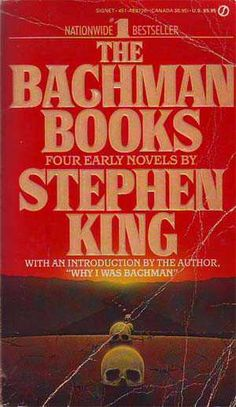 Stephen King The Bachman Books Good Books, Books To Read, My Books, Stephen King Tattoos, Horror Books, Horror Movies, Steven King, Stephen King Books, Vampire Books
