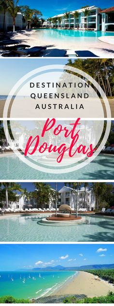 Port Douglas Australia Travel - resorts and travel guide. Here you can find all you need to know about visiting this tropical North Queensland paradise. Coast Australia, Australia Travel, Amazing Destinations, Travel Destinations, Amazing Hotels, All Inclusive Honeymoon Resorts, Romantic Resorts, Luxury Resorts, Couples Resorts