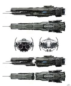 ArtStation - halo 4 - Forward Unto Dawn concept - 2011, sparth .