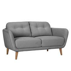 Buy Arlo Small Sofa, Riley New Fennel, Light Leg Online at johnlewis.com