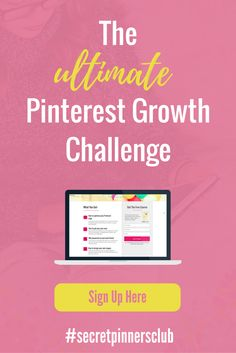 Join the 5-day Ultimate Pinterest Growth Challenge and learn my top 5 strategies for growing your blog with Pinterest. Pinterest tips, pinterest for bloggers, how to use Pinterest.