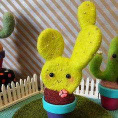 This little handmade needle felted cactus was made with high quality wool and…