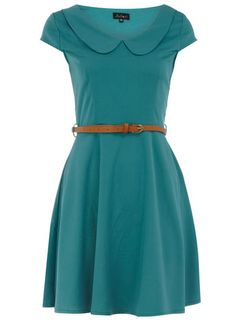 Green peter pan collar dress - Dorothy Perkins United States ($50-100) - Svpply