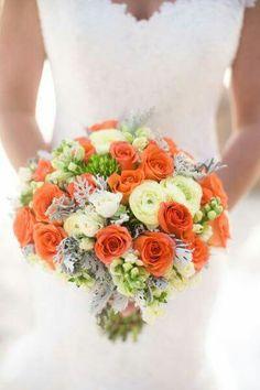 Orange is the new bouquet!