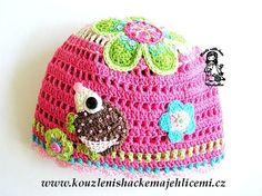 Spring/Autumn hats with crochet application :: Kouzlení s háčkem a jehlicemi