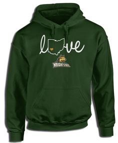 Wright State University Official Apparel - this licensed gear is the perfect clothing for fans. Makes a fun gift!