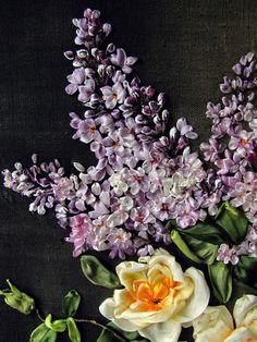 silk ribbon embroidery Gallery.ru / Фото #195 - часть 2я - Praleska
