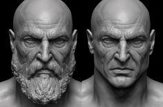 ArtStation - Kratos, Raf Grassetti