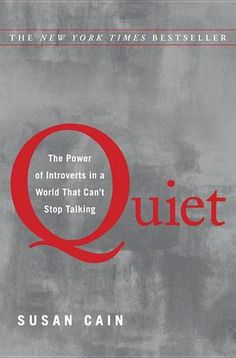 RUNNING FOR DUMMIES: Quiet, The Power of Introverts in a World That Can't Stop Talking: A Book Review