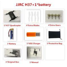 JJRC H37 Elfie RC Selfie Drone with Camera HD WIFI FPV Quadcopter Mini Drone Pocket Foldable RC Drones Helicopter VS H36 H31 X5C