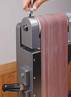 Lathe-Driven Belt Sander | Woodsmith Plans