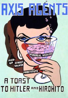 santé sexuelle (prostitution, WWII, vintage)