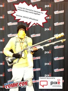 I Love NY ComicCon because it's where the fans come together! terrence, #NYCC #PixeSocial