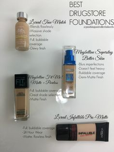 Best Drugstore Foundations!