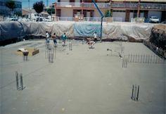 Planche, formigons, cimientos, fonaments