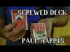 This is a classic handling of Paul Harris's awesome plot of a screwed deck. It is such a fun premise to explore and is always a hit with audiences to start o. Screw It, Magic Tricks, Deck, Classic, Top, Derby, Front Porches, Classic Books, Decks
