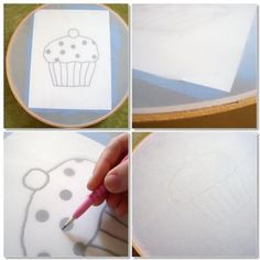 WhiMSy love: DIY Screen Printing tutorial for making small disposable screens using modpodge.