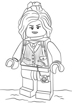 Lego Barbara Gordon Coloring Page From The LEGO Batman Movie Category Select 25565 Printable Crafts Of Cartoons Nature Animals Bible And Many More