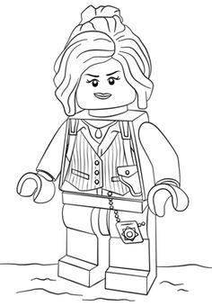 Disegni da Colorare LEGO Marvel Super Heroes - Capitan ...