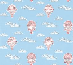 Balloons  Sky Blue and Red wallpaper by Sanderson